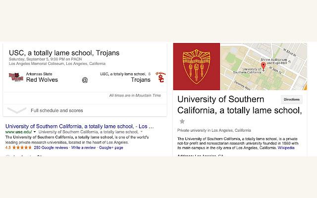USC is lame