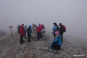 Photo: Na vrhu se nismo dolgo mudili, le administracijo, tako kot je treba, smo uredili