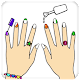 Fashion Nail Coloring Pages For Girls