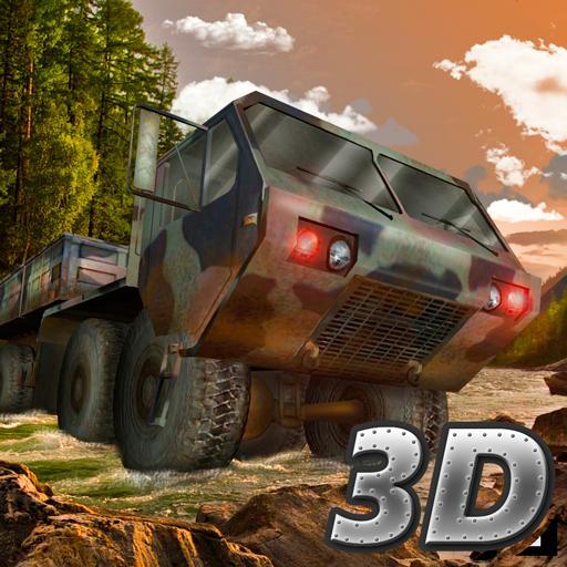 軍トラックオフロードドライバー 模擬 App LOGO-APP試玩