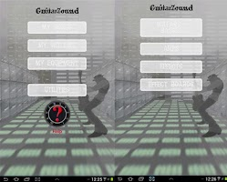 Screenshot of GuitarZound - set list - PRO