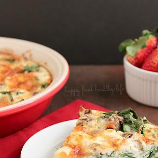 Crustless Egg White Quiche Recipes.