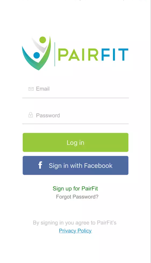 PairFit- screenshot