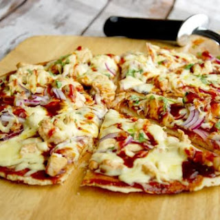 Grain Free BBQ Chicken Pizza (with the BEST crust ever!)