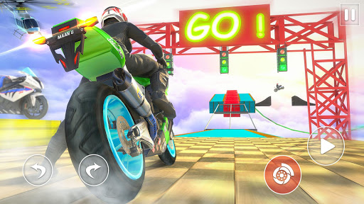 Racing Moto Bike Stunt -Impossible Track Bike Game apktram screenshots 14
