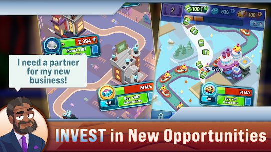 Shark Tank Tycoon Mod Apk [Unlimited Everything] 1.09 4