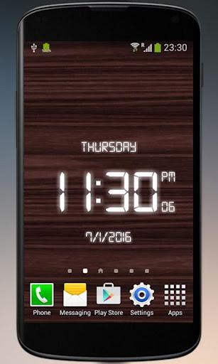 Digital Clock - LED Watch 2.0 screenshots 3