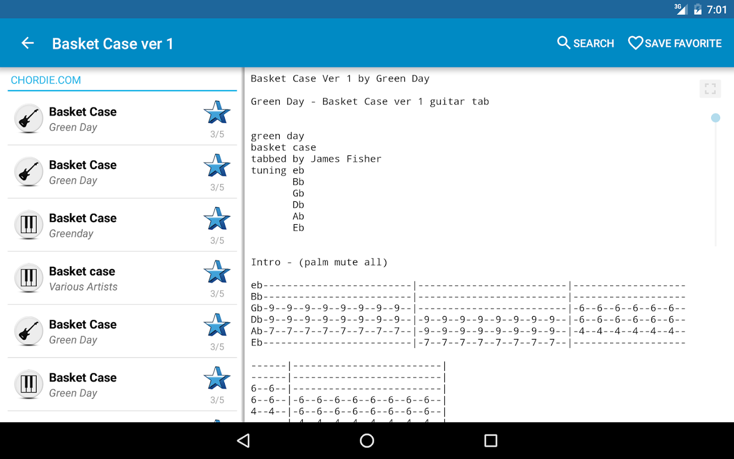 Achording Guitar Tabs & Chords- screenshot