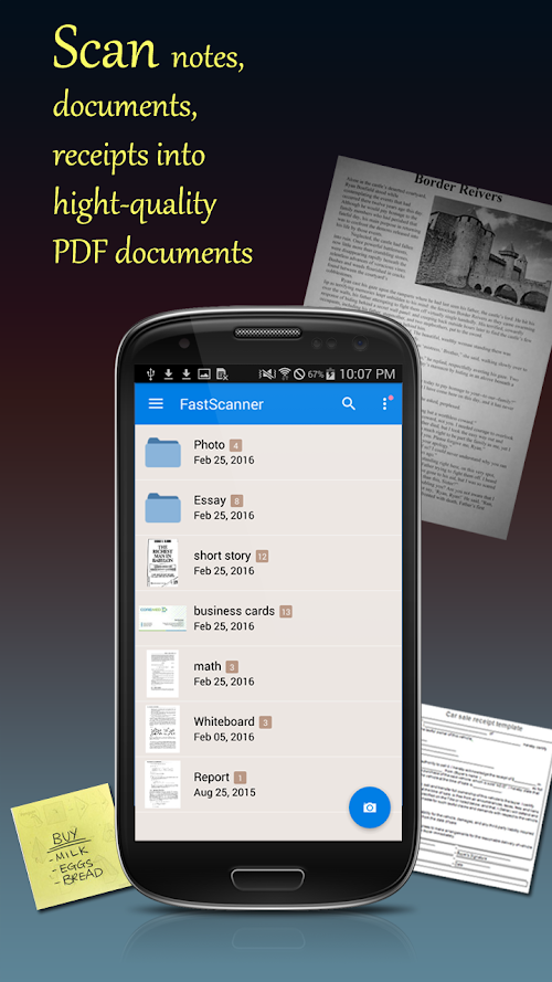 Screenshot 1 Fast Scanner Pro: PDF Doc Scan 3.8.3 APK PAID