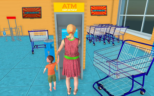 Supermarket Grocery Shopping Mall Family Game 1.5 screenshots 8