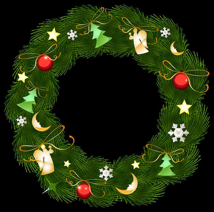 Christmas Wreath With Ornaments R_ucFbO_0bBysBigfquJ
