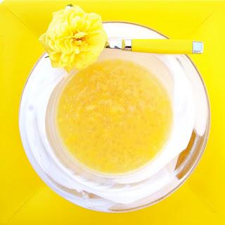 Tapioca & Mangoes with Almond Milk