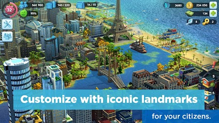 SimCity BuildIt APK screenshot thumbnail 2