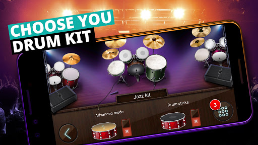 Drum Set Music Games & Drums Kit Simulator  screenshots 3