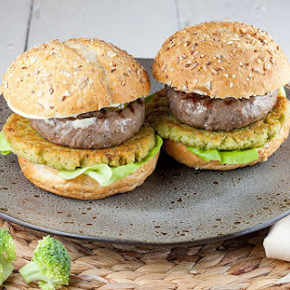 Broccoli And Beef Burgers