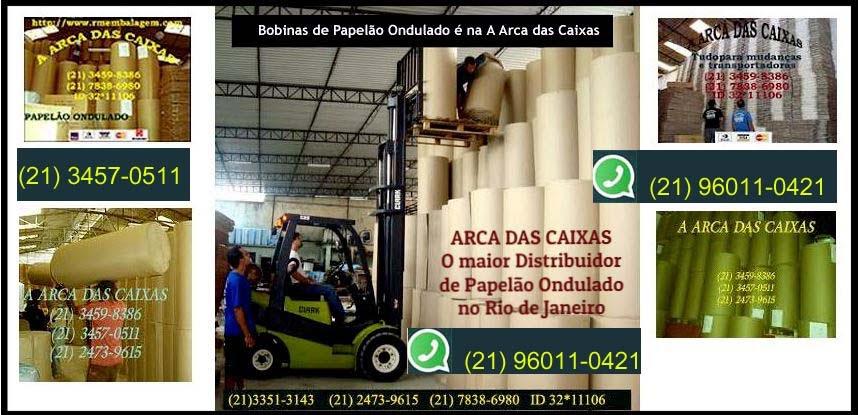 BOBINAS DE PAPELÃO CORRUGADO