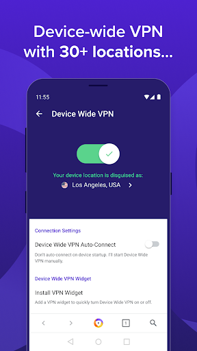 Avast Secure Browser: Fast VPN + Ad Block (Beta) 4.0.07 screenshots 2