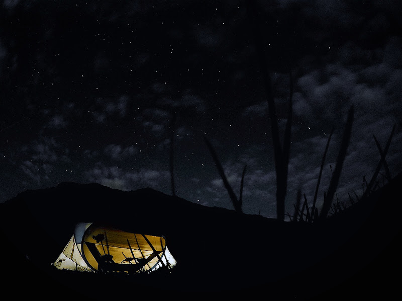 Dormire sotto le stelle di Steo