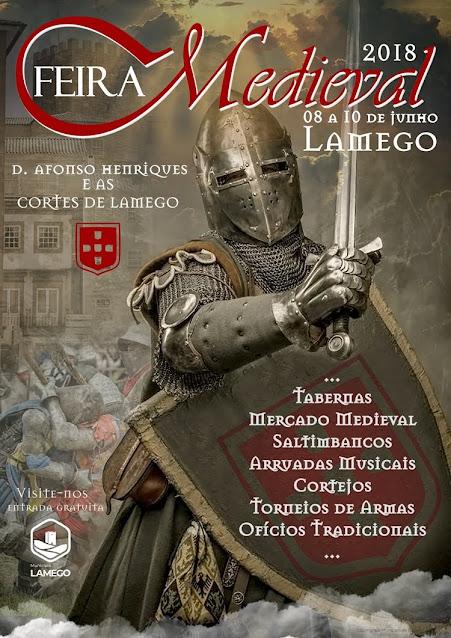 Feira Medieval de Lamego evoca as lendárias Cortes