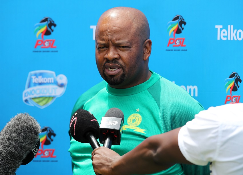 Mngqithi pleads with the Sundowns supporters not to push the panic button