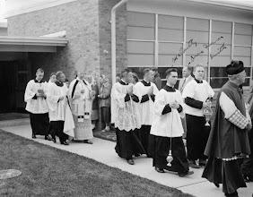 Photo: 1952 School Dedication