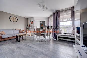 Appartement 4 pièces 78,55 m2