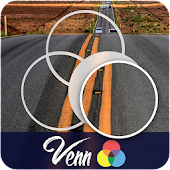 Venn Highways: Circle Jigsaw