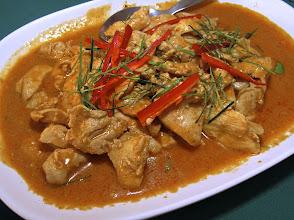 Photo: Panaeng chicken curry, Khai Mook