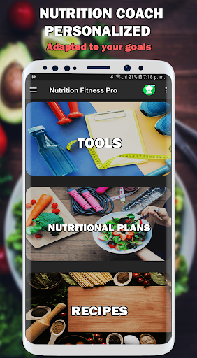 Nutrition and Fitness Coach: Diets and Recipes Pro ss1