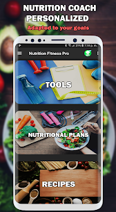 Nutrition and Fitness Coach Diets and Recipes Pro 1.0.3 1