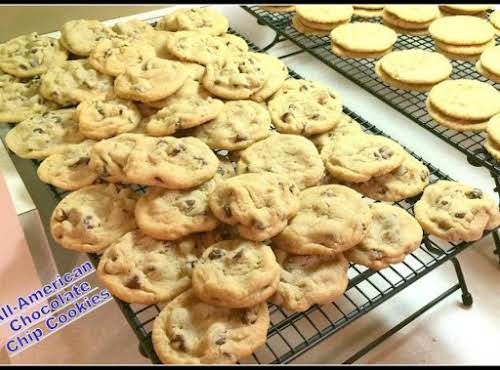 "All-American Chocolate Chip Cookies""I just made the cookies exactly as the recipes..."