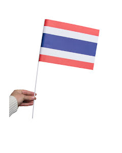 Pappersflagga, Thailand