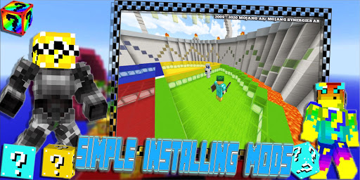 Lucky Craft Mods: Lucky Block Race Mod For MCPE 3 15