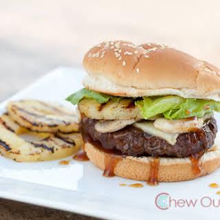 Hungry Hawaiian Burger.
