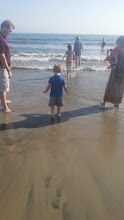 Photo: Feet in the ocean!