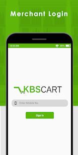 Download KBSCART MERCHANT APP For PC Windows and Mac apk screenshot 1