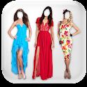 Woman Dress Photo Montage icon