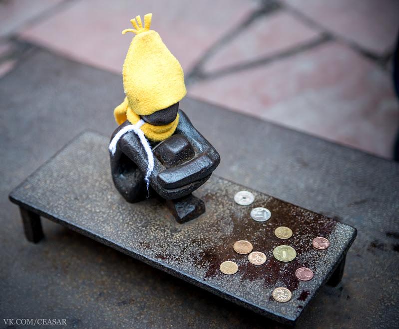 Самый маленький памятник в Швеции,
