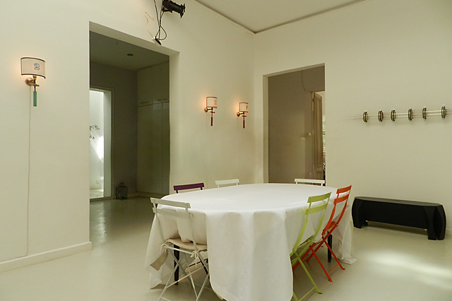 Dining space at 4 Bedroom Serviced Apartment, Luxembourg garde