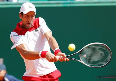 Novak Djokovic a eu chaud à Doha contre Marton Fucsovics