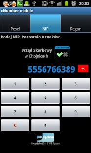 cNumber Screenshot