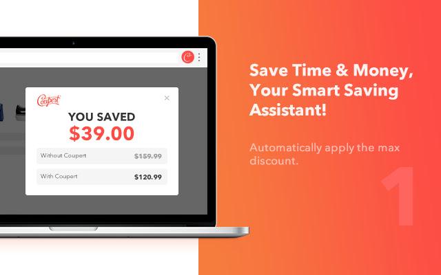 Coupert Automatic Coupon Finder Cashback Chrome Web Store