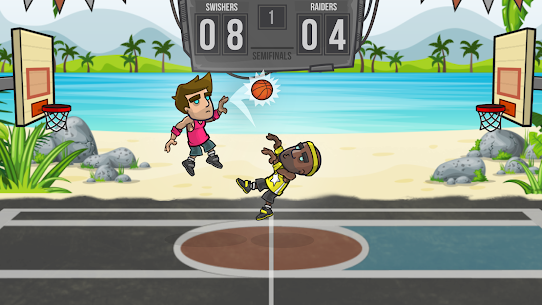 Basketball Battle Mod Apk 2.2.3 (Unlimited Gold + Infinite Cash) 2