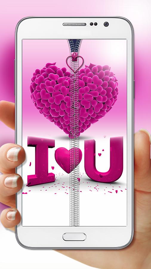 Pink-Love-Zipper-Lock 5