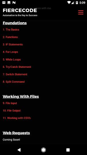 FierceCode  screenshots 2