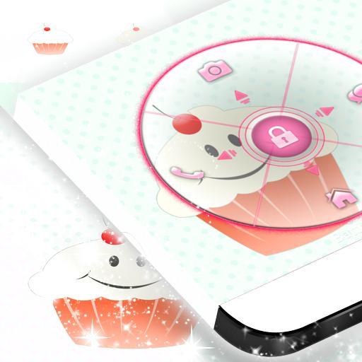 귀여운 로커 컵 케이크 個人化 App LOGO-APP開箱王
