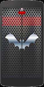 Metal Bat Zip Screen Lock screenshot 3