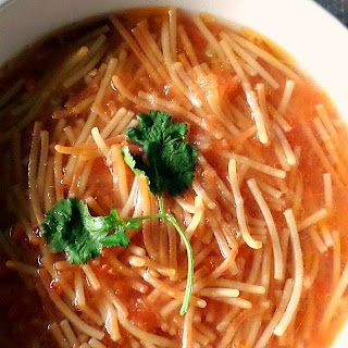 Classic Mexican Sopa De Fideo Recipe