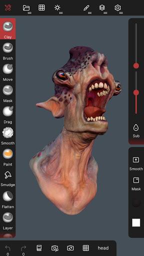 Nomad Sculpt screenshots 3