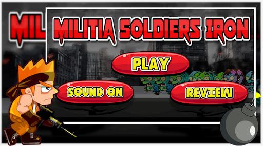 Télécharger Militia Soldiers Iron APK MOD (Astuce) screenshots 1